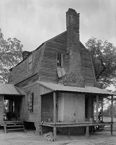 James Battle House. Nash County, NC. This photo was taken by Frances B. Johnston in 1936.
