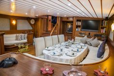 When you wake up, you need breakfast in yacht. Breakfast is starting your happy days.