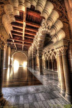 Palacio de Aljafería, #Zaragoza. Una maravilla #Aragón