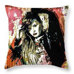 Throw Pillow with Demi Lovato #DemiLovato #ddlovato #celebrity #pillow #art #popart