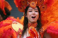 Asakusa Samba Carnival girl