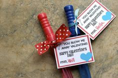 Bubble Wands | 14 Valentine's Day Surprises That Show Your Students You Love Them