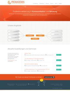 Website Relaunch für PROKADEMIA.ch – Konzeption, Design, Umsetzung und Beratung aus einer Hand