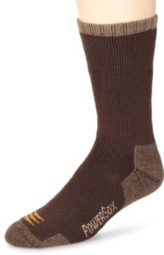 Gold Toe Men's Powersox Heavy Cushion Socks Gold Toe. $12.99. Machine Wash. 2 pair pack. Made in Pakistan. Socks size (9-11) medium does fit shoe size (5-8.5). Cotton for comfort and feel. Socks size (10-13) large does fit shoe size (9-12.5). Contour cushion. 91% Cotton/7% Polyester/1% Nylon/1% Spandex. Spandex for better fit