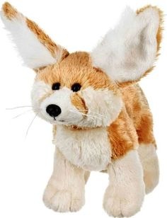 Webkinz Fennec Fox. Love! This is so cute! Adorable! (But it's ears freak me out.)