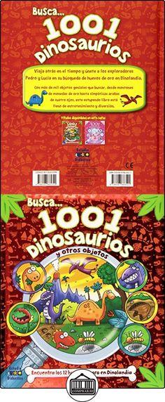 1001 DINOSAURIOS (Busca y encuentra) Equipo editorial ✿ Libros infantiles y juveniles - (De 0 a 3 años) ✿