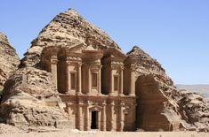 "El Deir (""The Monastery"") in the ancient city of Petra, Jordan"