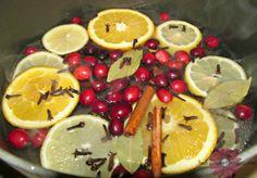 Christmas Potpourri Simmer Pot Recipe; Homemade Air freshener