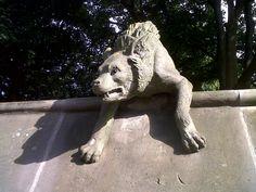 Animal Wall - Hyena, Cardiff Castle, Cardiff, Wales