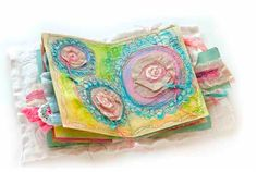 Bloom Stitched Journal. By Ruth Rae.