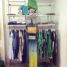 Corner estivo #corner #allestimento #shopping #nuovacollezione #pe2015 #shopping #SpringSummer #colori #shoponline #glamour #beautiful #girls #swag #instalike #love #picoftheday #cool #tantascelta #itgirl #abitolungo #super #fashion #girls #fashionvictim #ViaCavour11 #ElementiNettuno