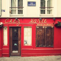 Chez Marie Paris Photo Romantic Travel by EyePoetryPhotography, $30.00