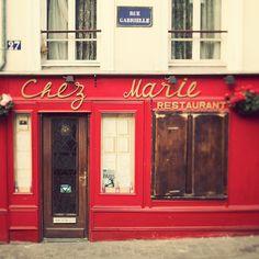 Chez Marie, Paris, France