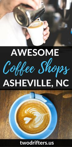 The Best Coffee Shops in Asheville NC - Local Favorites You Can't Miss - Check more. Asheville North Carolina, Best Coffee Shop, Coffee Shops, Coffee Cozy, Coffee Lovers, Morning Coffee, Asheville Restaurants, Asheville Camping, Asheville Food