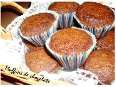 Olive oil and chocolate muffins