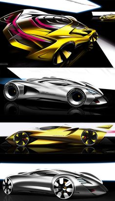 Daily Sketches: by Alexander Imnadze gallery: Check his Bugatti at: http://www.carbodydesign.com/2015/09/designer-reinterprets-the-bugatti-vision-gt-concept/