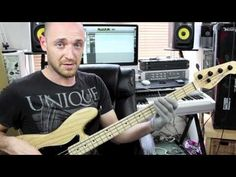 Funky Bass Groove Breakdown - Lesson With Scott Devine - YouTube