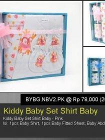 Kiddy Baby Set Shirt Baby BYBG.NBV2.PK