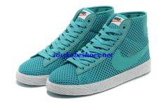Nike Blazer Mid Mesh Womens Turquoise Sail 579956 300