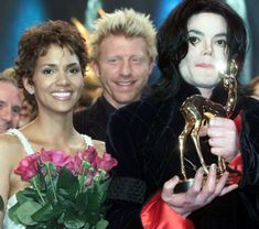 Halle Berry, Boris Becker & Michael Jackson - Bambi Awards 2002