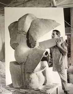 Peter Voulkos, (Master Of Expressive Ceramics) Los Angeles, 1959.
