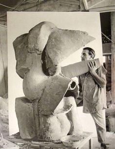 Peter Voulkos, (Master Of Expressive Ceramics) Los Angeles, 1959.