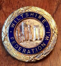 Witshire Womens Institute, Badges, England, Badge, English, British, United Kingdom