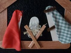 Nativity Crafts for Kids - Popsicle Stick Nativity