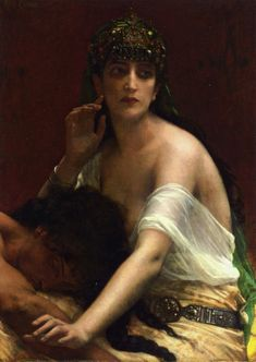 Alexandre Cabanel - Samson et Dalila