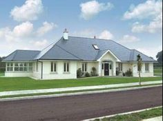 House Bungalow plans northern ireland - Voobay Homes Modern Bungalow House Plans, Dormer Bungalow, Bungalow Exterior, Bungalow House Design, Cottage Exterior, Dream House Exterior, Country House Plans, Bungalow Homes, Bungalow Extensions