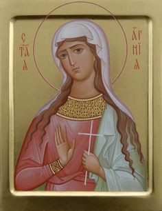 Icon of Saint Agnia