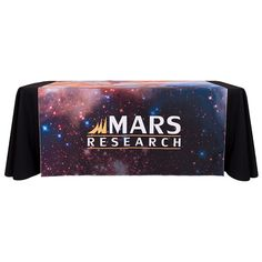 Personalize this Custom Table Runner with your Logo for the upcoming Trade Show or Event. Trade Show, Table Runners, Cocktails, Display, Color, Check, Craft Cocktails, Colour, Billboard