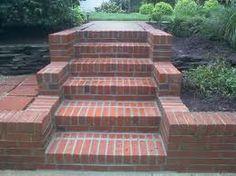 brick stairs