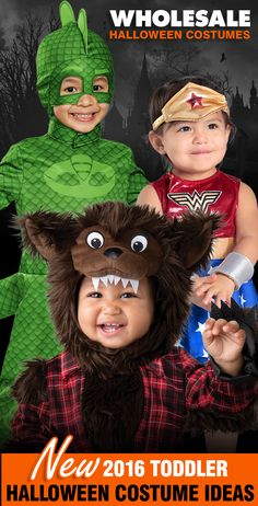 Check Out The Newest Baby & Toddler Costumes for Halloween 2016!