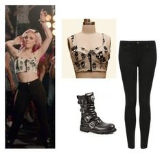 """""""Perrie Edwards"""" by little-mixoutfits ❤ liked on Polyvore featuring Topshop"""
