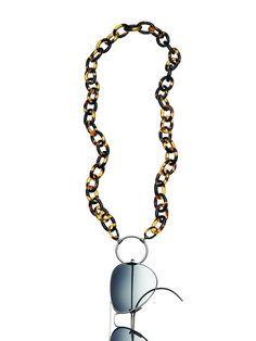 d153d3fb5623 009P Oval Tortoise Acetate. Eyeglass HolderReading ...