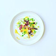 Carottes, oxalis, petit pois et l'huile de basilic. #instafood #TheArtOfPlating #foodporn #foodstagram #yummy #kitchen #chef #chefstalk #chefsroll #foodphotography #gastroart #foodart #expertfoods #ChefOfInstagram #gastronomia #foodshoot #foodpic #chefspl