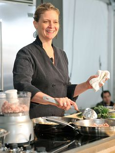 Amanda Freitag's Salisbury Steak with Grilled Portobello Mushrooms Recipe
