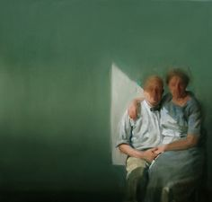 Portraiture of an old couple.