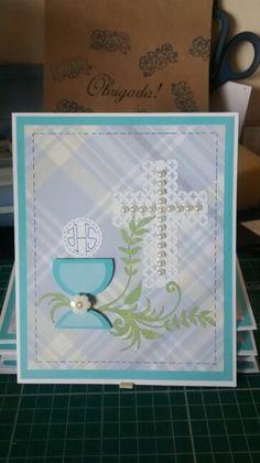 Cartão para Primeira Eucaristia... By Ketley