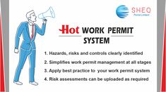 The Permit to Work system will simplify the process to work, integrating multiple types of permits such as hot work, height, confined space entry, etc into one unified system.