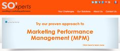 Try our proven approach to Marketing Performance Management
