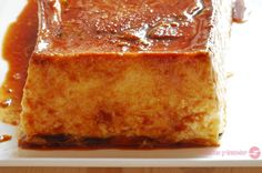 Flan de queso. Cornbread, French Toast, Breakfast, Cake, Sweet, Ethnic Recipes, Desserts, Food, Mousse