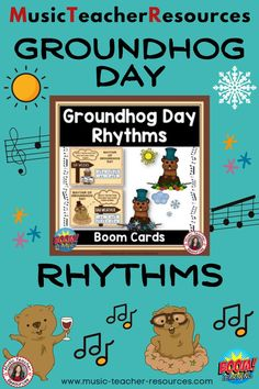 From Music Teacher Resources, these 20 digital task cards on the BOOM Learning™ website are fun, educational and engaging activities to reinforce the concept of rhythm! Students are to match the given word/s to the most correct rhythm. Have students Say the name of each word (words) Clap the syllables in each word Select the rhythm that best matches the number of syllables and the natural rhythm of the word/words #musiceducation #mtr #boomcards #boomcardsmusic