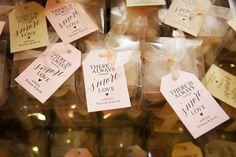Smores Guest Favors - Blush and Gold Wedding at the Regent - Central Florida Wedding Venue - Photo: Limelight Photography - Orange Blossom Bride - Click Pin for More - www.orangeblossombride.com