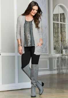 Cato Fashions | Seamed Over the Knee Boots