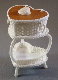 Heart-Shaped Sewing Basket
