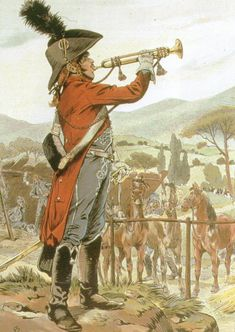 French; Hussar Trumpeter, ca. 1798