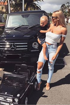Brown To Blonde Balayage Discover Beach Bum Jeans - Light Blue Tammy Hembrow, Mommy And Son, Baby Momma, Family Goals, Beach Bum, Little Man, Baby Fever, Kids And Parenting, Cute Babies