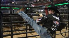 The secret workout routines of bull riders! Yee Haw!